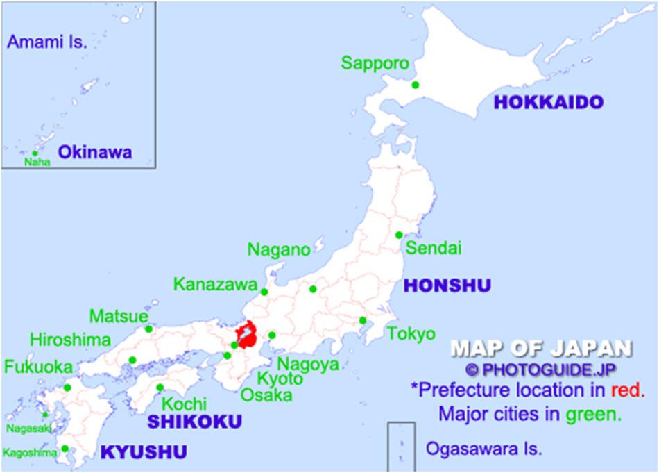 lake biwa japan map International Conference On Polyol Mediated Synthesis Conference lake biwa japan map